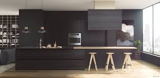 Light Wood Kitchens 36 Stunning Black Kitchens That Tempt You To Go Dark For Your Next