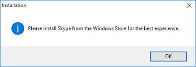 skype bureau windows comment installer skype sur windows 10 sans passer par le windows