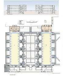 salk institute louis kahn circulation diagram architecture