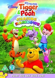 my friends tigger u0026 pooh chasing rainbows dvd amazon co uk