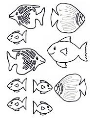 coloring pages printable fish coloring images fish free