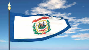 Virginia Flags Flag Of The State Of West Virginia Usa Royalty Free Video And