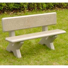 oakland living ornamental high back bench hayneedle