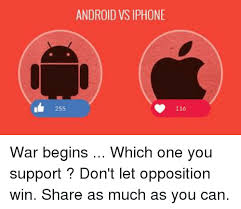 why androids are better than iphones 25 best memes about android vs iphone android vs iphone memes