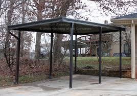 Aluminum Carport Awnings Free Standing Carport Roselawnlutheran