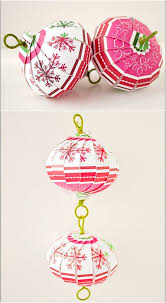 20 hopelessly adorable diy ornaments made from paper
