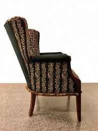 Leopard Print Accent Chair Amy Animal Print Accent Chair Benefitting Community Warehouse