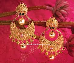 earrings in grt chand bali earrings from grt for a gracious and timeless statement