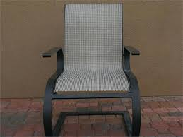 Sling Back Patio Chairs Slingback Outdoor Furniture Sling Back Patio Chair Cushions Wfud
