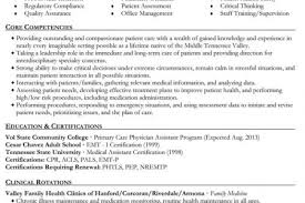 Physician Assistant Resume Sample by Physician Assistant Resume Sample Sample Resume Cv Template