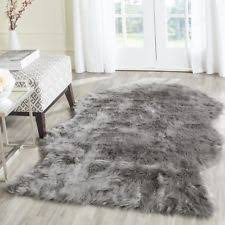 Safavieh Faux Sheepskin Rug Acrylic Animal Skin Area Rugs Ebay