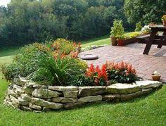 Retaining Wall Ideas For Sloped Backyard 50 Backyard Landscaping Ideas That Will Make You Feel At Home