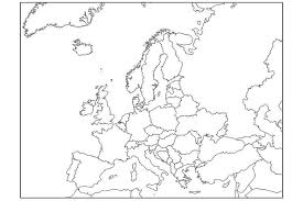 blank map of europe 17 blank maps of the u s and other countries
