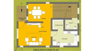 small house plan 1008 homeplansindia
