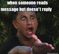 Reply Memes - meme maker when someone reads message but doesnt reply
