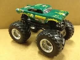 wheels monster jam truck green avenger 1 64 mattel 15 00