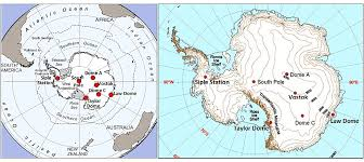 map of antarctic stations 800 000 year records of atmospheric carbon dioxide co2