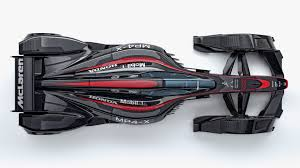 mclaren concept mclaren u0027s new mp4 x concept car imagines a fully bonkers future