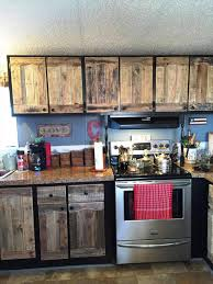 Recycle Kitchen Cabinets by Kitchen Cabinets Using Old Pallets