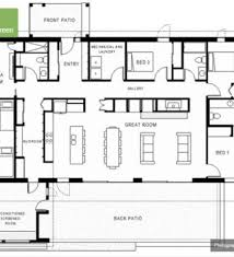 Backyard House Plans by Bedroom House Floor Plans Moreover Modern Contemporary House Plans