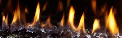 mezzo see through gas fireplace heat u0026 glo