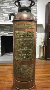 antique fire extinguisher fire
