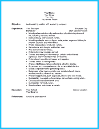 resume examples for restaurant jobs bartender resume sample no experience free resume example and bartender job description example bartender resume sample no experience head bartender job description