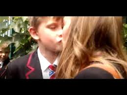 kids kissing in youtube