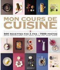 livre cuisine marabout mon cours de cuisine editions marabout