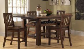 Bar Top Table Sets Dining Room 5 Piece Dining Set Round Table Amazing 5 Piece