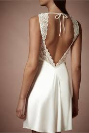 Classy Wedding Night Lingerie Chantilly Chemise From Bhldn For The First Night As Husband And