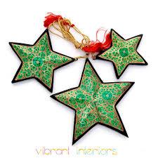 christmas decorations jingle bells papier mache xmas tree ornament