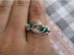 metal wire rings images A collection of 5 wire wrapped rings tutorials the beading gem 39 s JPG