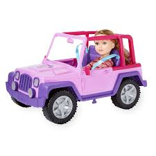 pink toy jeep journey girls outback 4 wheel vehicle toys r us canada