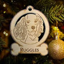 king charles cavalier ornament king charles spaniel gifts