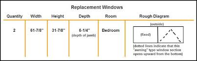 window measurements how to measure for replacement windows