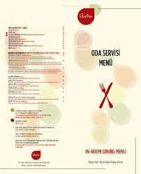 menu antre restaurant