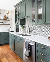 green kitchen cabinets 15 green kitchen ideas that will make you jealous in 2021