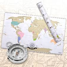 World Map Prints by Amazon Com Scratch Off World Map Deluxe Personalized Travel Map