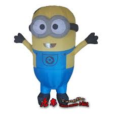 Inflatable Halloween Costumes Sell High Quality Clothes Interesting Minion Slave Inflatable