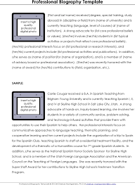 doc 585650 biography template u2013 biography template 20 free word