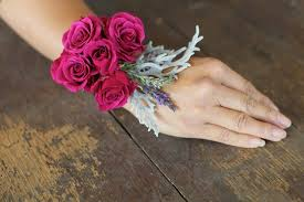 how to make a wristlet corsage how to make a floral bracelet wrist corsage