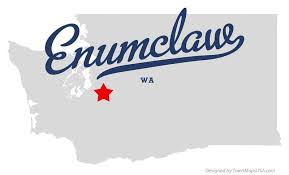 enumclaw wa map enumclaw washington