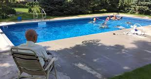 94 year old man builds swimming pool for neighborhood kids after