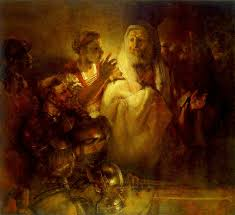 Image Of Christ by File Rembrandt Peter Denying Christ Wga19121 Jpg Wikimedia