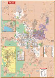 Las Vegas Zip Codes Map by Nevada Wall Maps National Geographic Maps Map Quest Rand