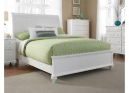 White Sleigh Bed Hayden Place White Sleigh Bed