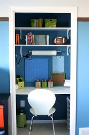 Blue Computer Desk by 20 Hideaway Desk Ideas To Save Your Space Shelterness