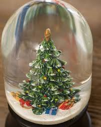 thanksgiving snow globe christmas tree musical snow globe balsam hill