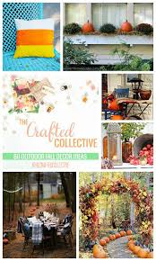 Outdoor Fall Decor Ideas - the crafted collective outdoor fall decor the benson street